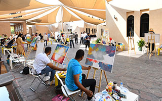 live-painting-sesion-qatar-2019